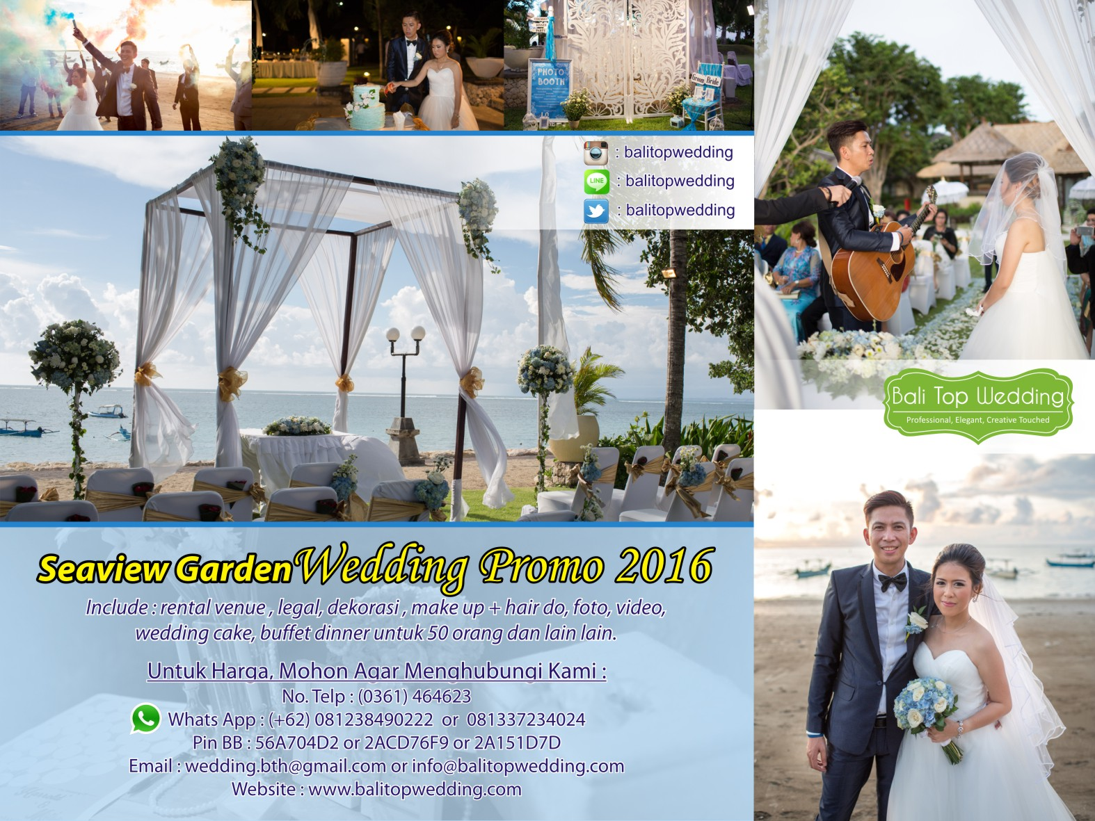 Promo wedding Garden Beach View