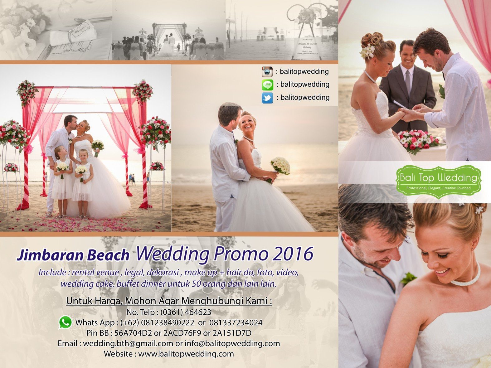 Promo wedding jimbaran